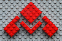 Hakwerk IT logo in Lego